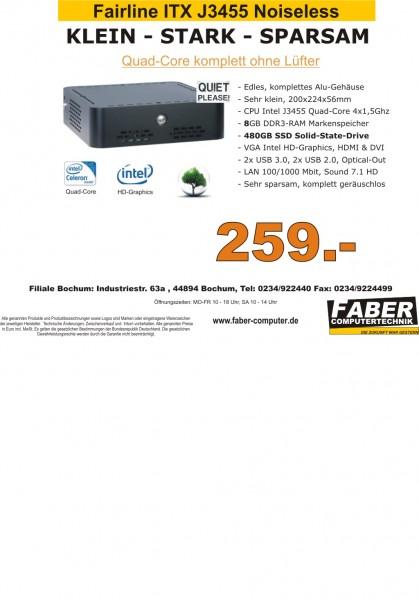 FK Fairline V20 J3455 ITX Noiseless