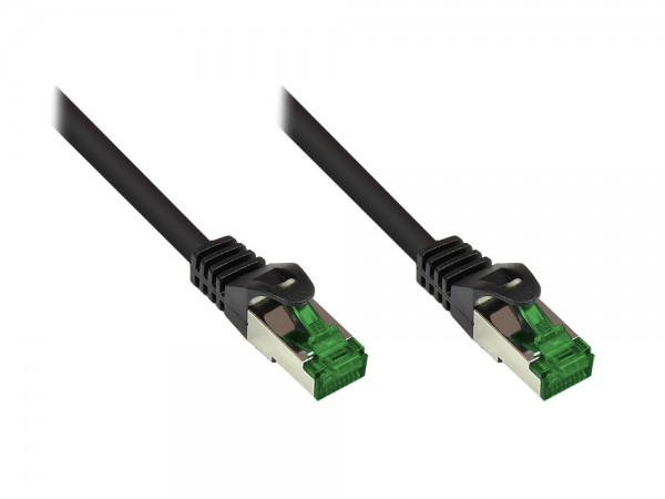 Faconet® 40 Meter Patchkabel mit Rastnasenschutz, Outdoor (IP66), Cat.6A, S/FTP, PiMF, 500MHz, CU, s