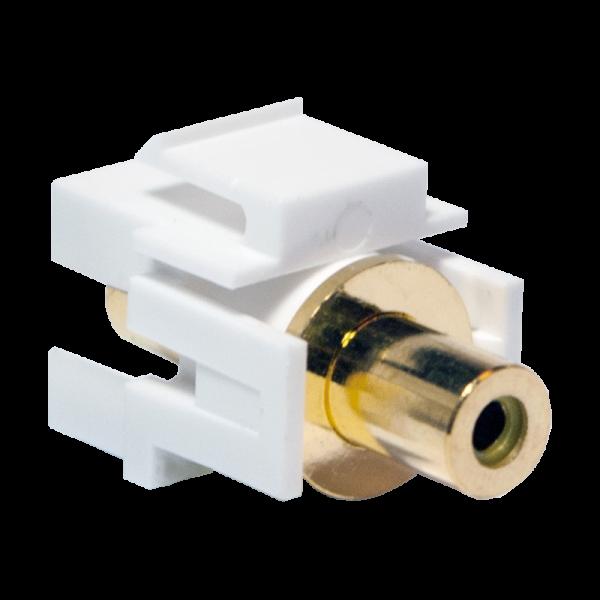 LogiLink® Keystone Verbinder Cinch Buchse > Cinch Buchse - gelb