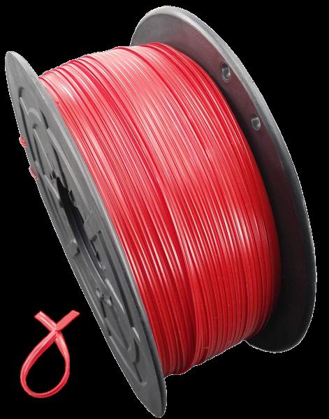 KAB Kabelbinder Twistband rot 1000Meter