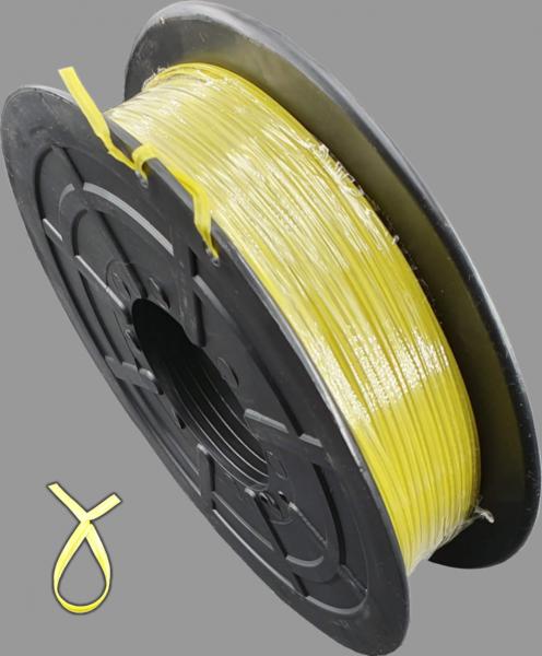 KAB Kabelbinder Twistband gelb 500Meter