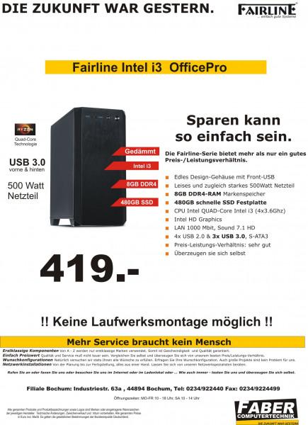 FK Fairline V20 Intel i3 Office Pro