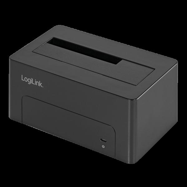 """LogiLink® Quickport USB 3.1 Gen2 für 2,5"""" + 3,5"""" SATA HDD/SSD"""