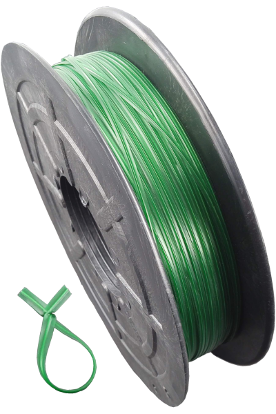 KAB Kabelbinder Twistband grün 50Meter